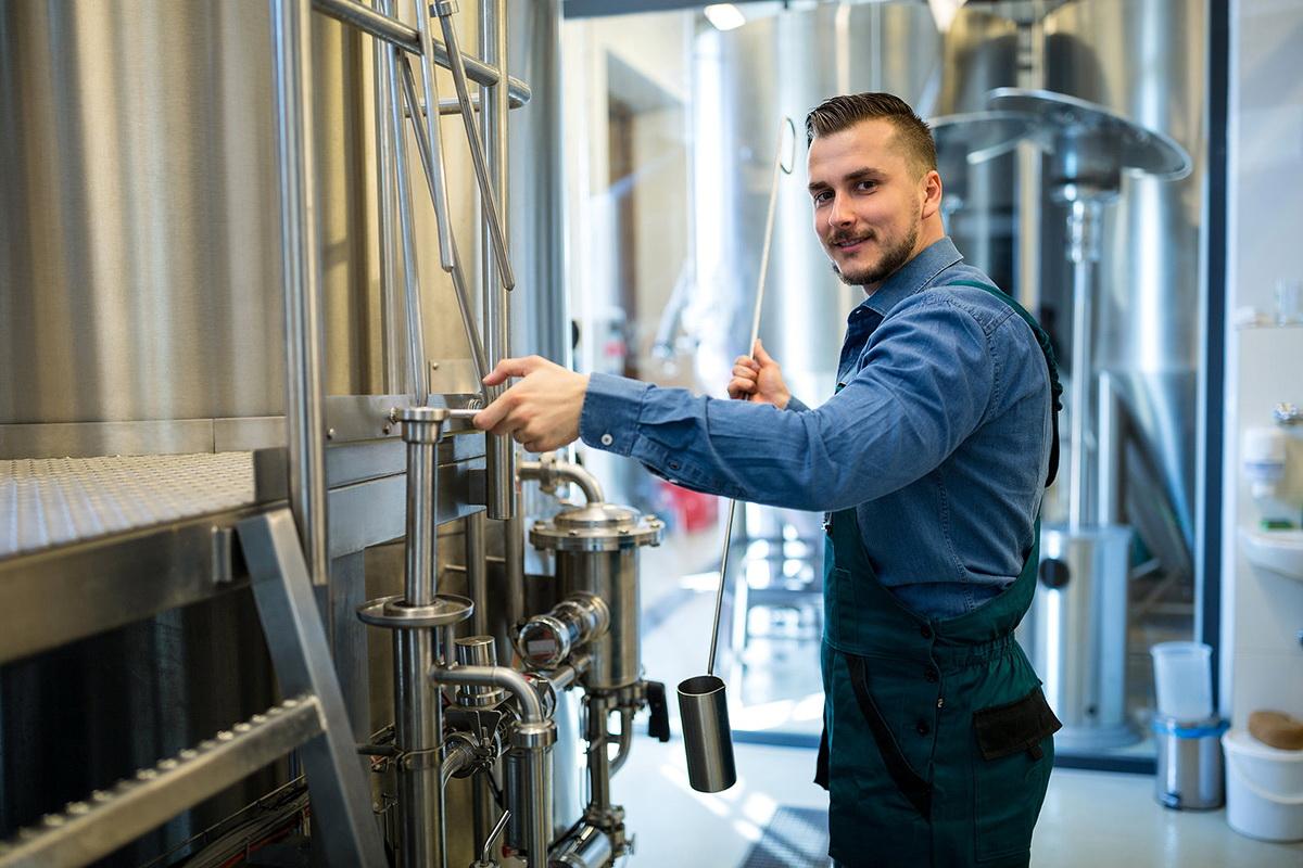 Zajištění prací v pivovarnictví a sladovnictví